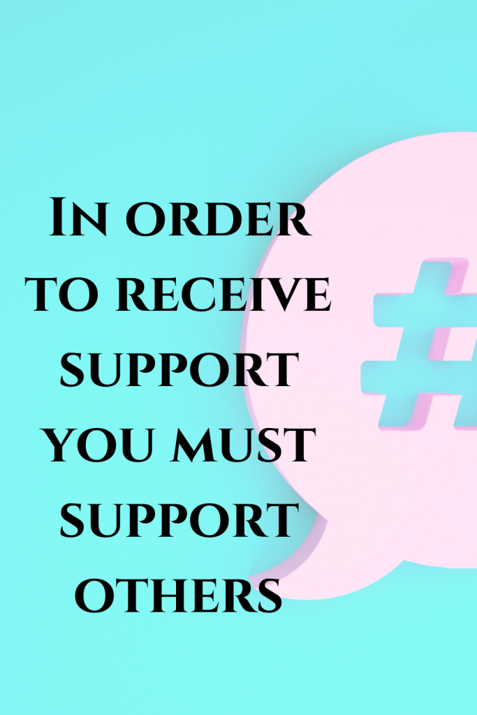 quote about supporting others