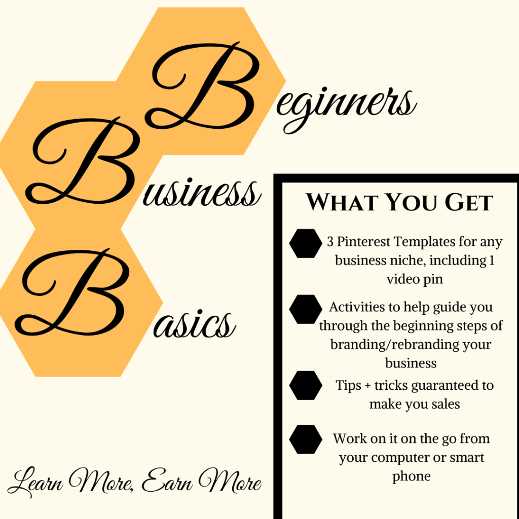 Beginners Business Basics Digital Workbook  Workbook for new small business owners