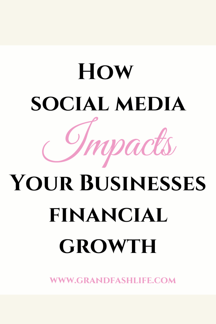 How Social Media Impacts Your Businesses Future FinancialGrowth