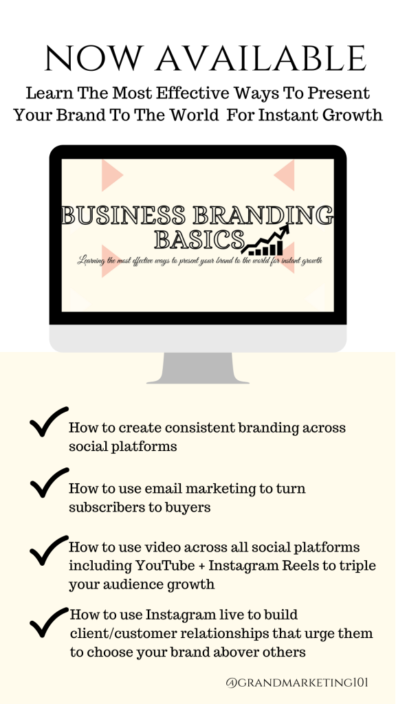 Business branding marketing course